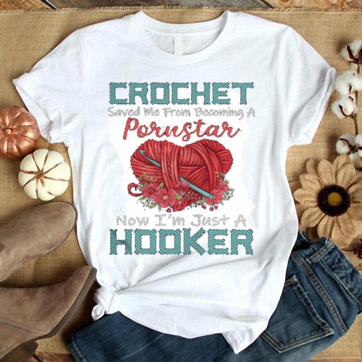 - Crochet saved me from becoming a Porustar shirt