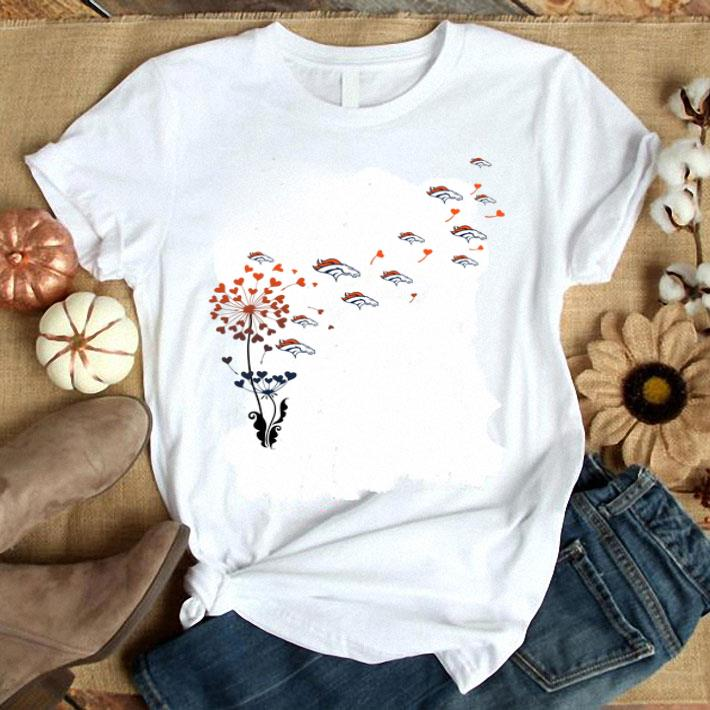 - Denver Broncos dandelion flower shirt