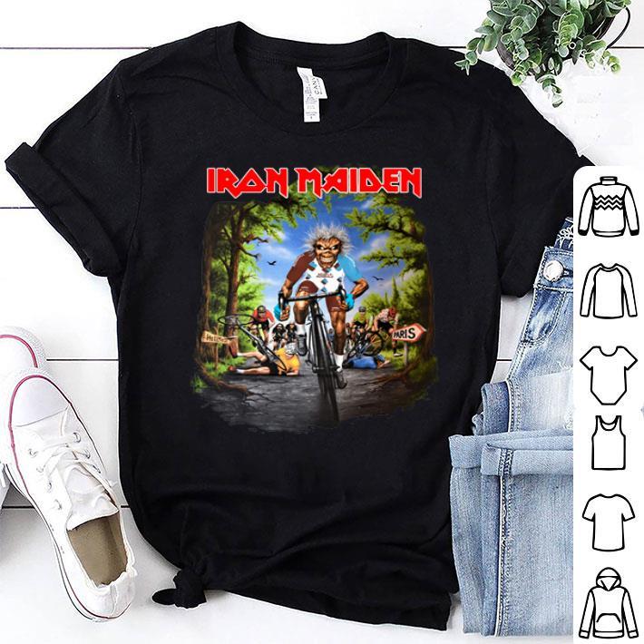- Iron Maiden Tour De France 2019 shirt