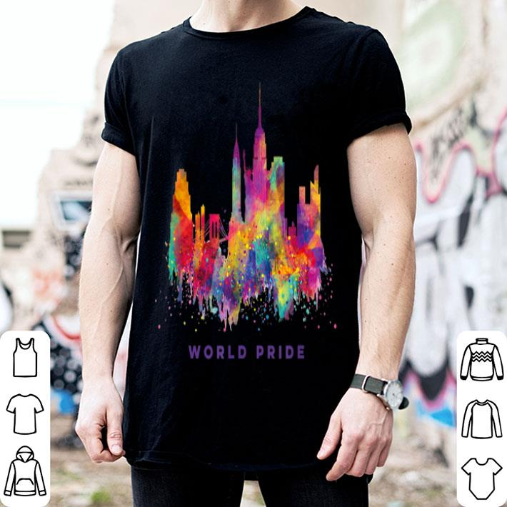- LGBT NYC World Pride 2019 Rainbow New York shirt