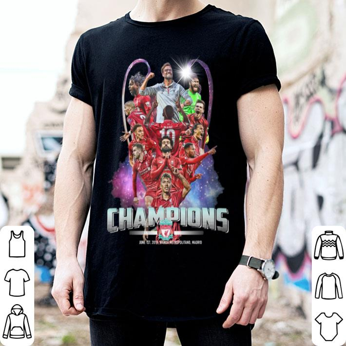 - Liverpool Champions Cup 2019 shirt