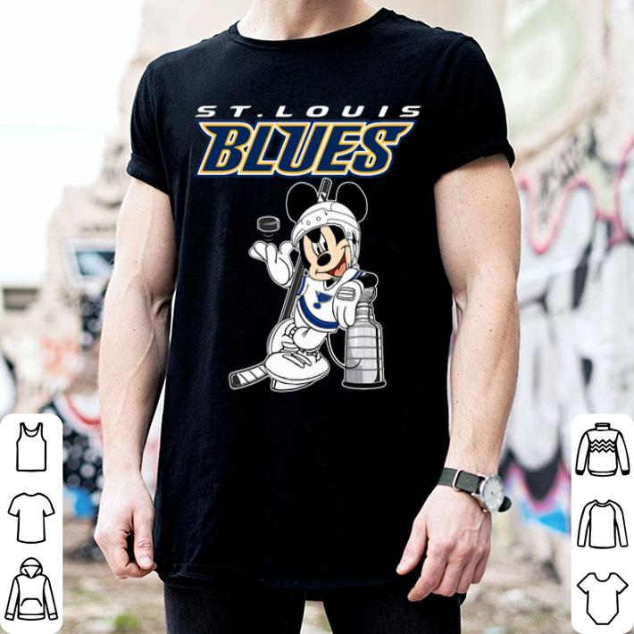 - Mickey St. Louis Blues Stanley Cup NHL shirt