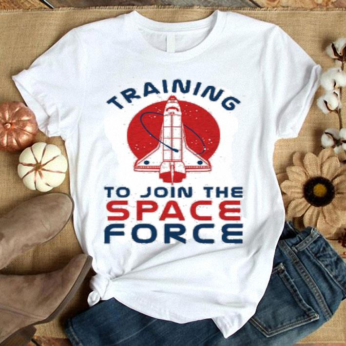 Training to join the Space Force shirt