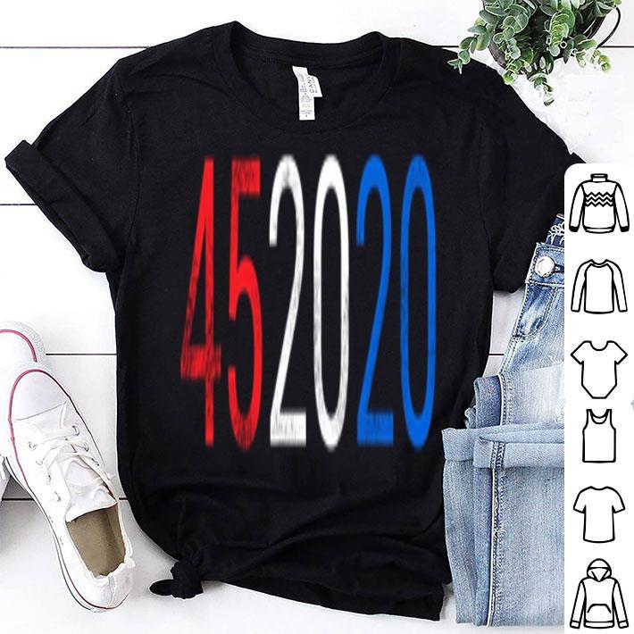 - Trump 45 2020 Second Presidential shirt