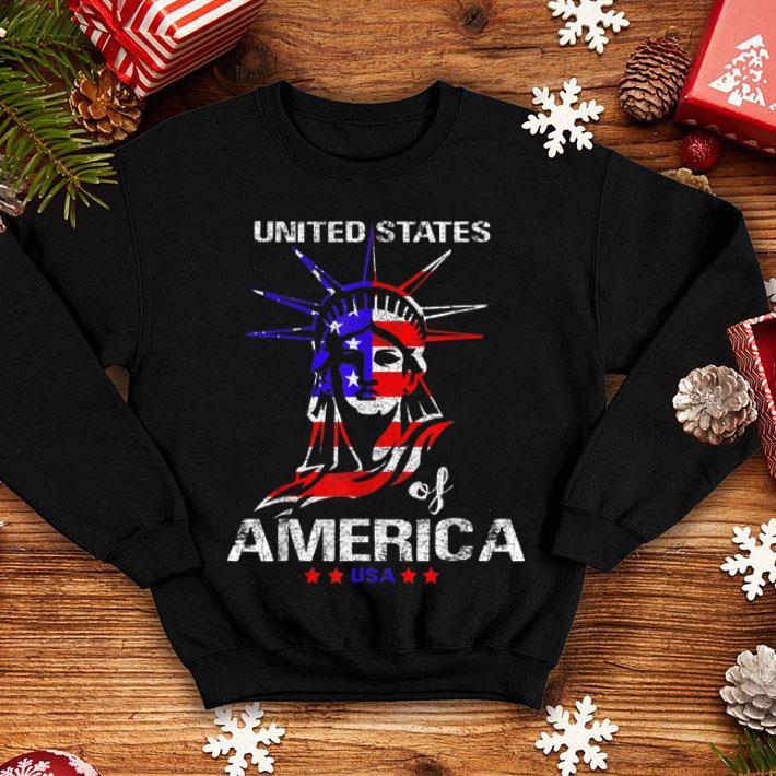 United States Of America USA 4th July American Flag shirt