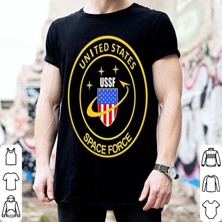 - United States space force USSF classic logo shirt