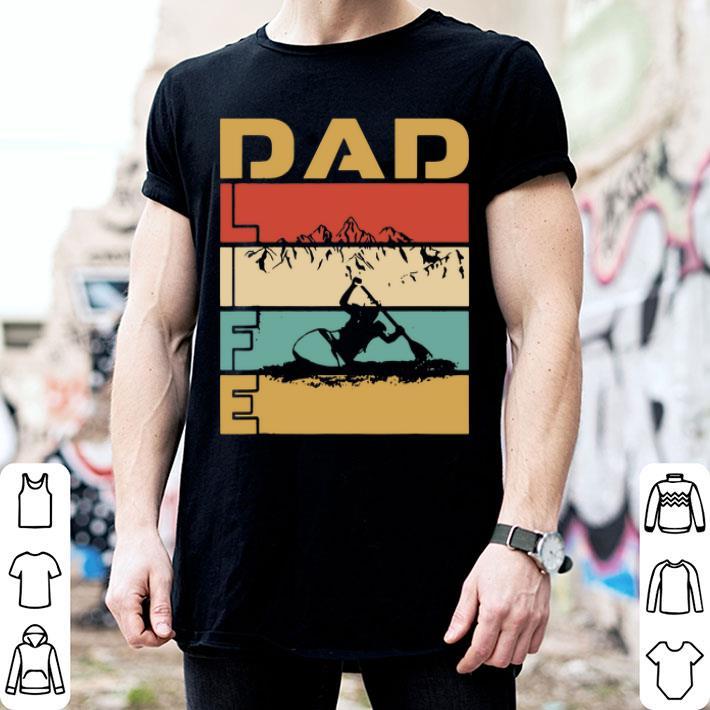 - Vintage Best Dad Life Kayaking Adventure Sports shirt