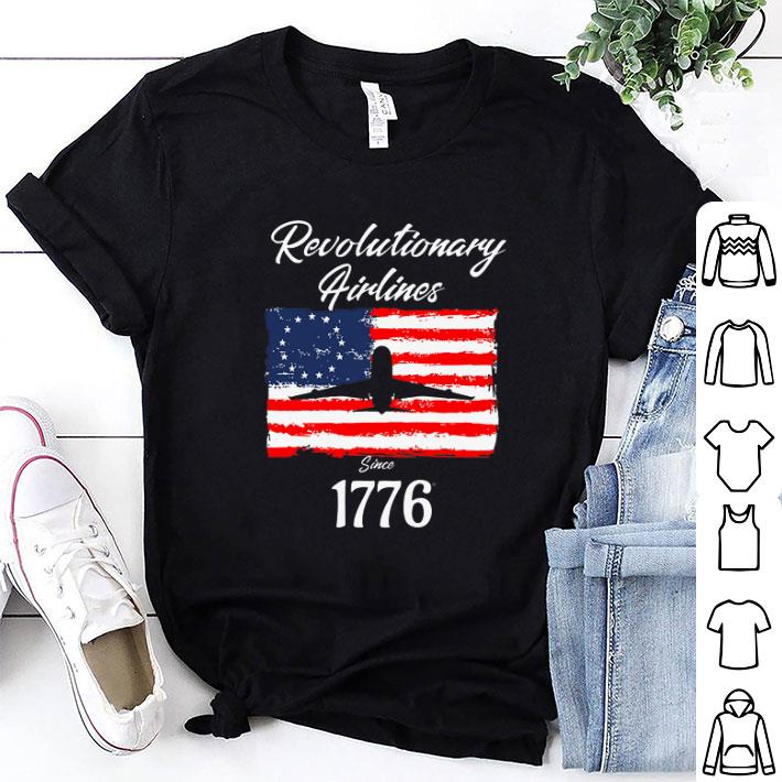 Revolutionary Airlines since 1776 Betsy Ross Flag shirt 1