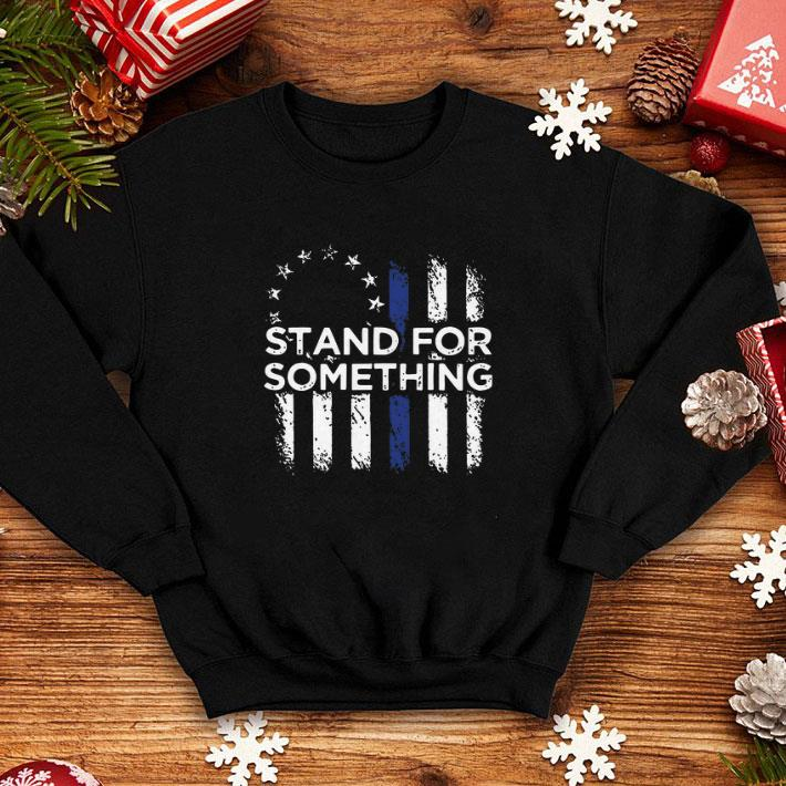 - Stand for something Betsy Ross flag shirt