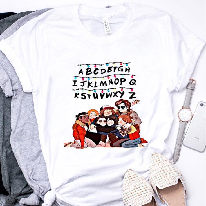 Alphabet Kids Stranger Things shirt