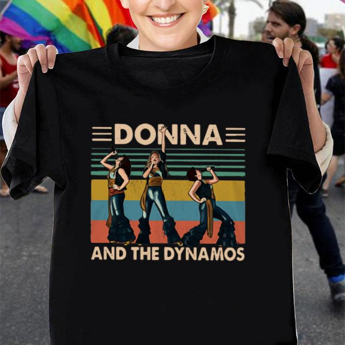 Donna and the Dynamos vintage shirt