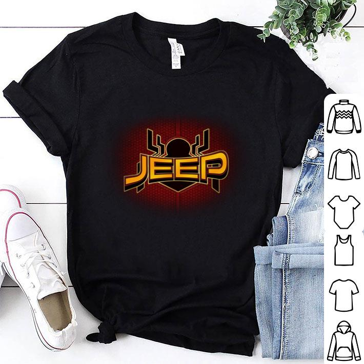 Jeep Spider Man Far From Home shirt