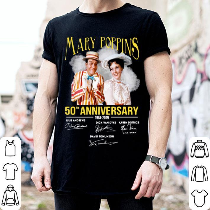 - Mary Poppins 50th anniversary 1964-2019 signatures shirt