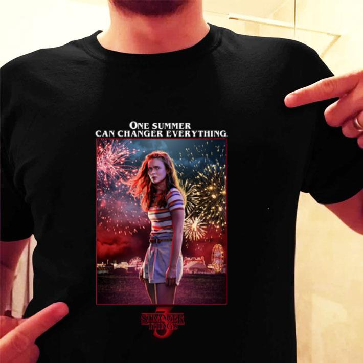 - Max Mayfield One Summer Can Change Everything Stranger Things 3 shirt
