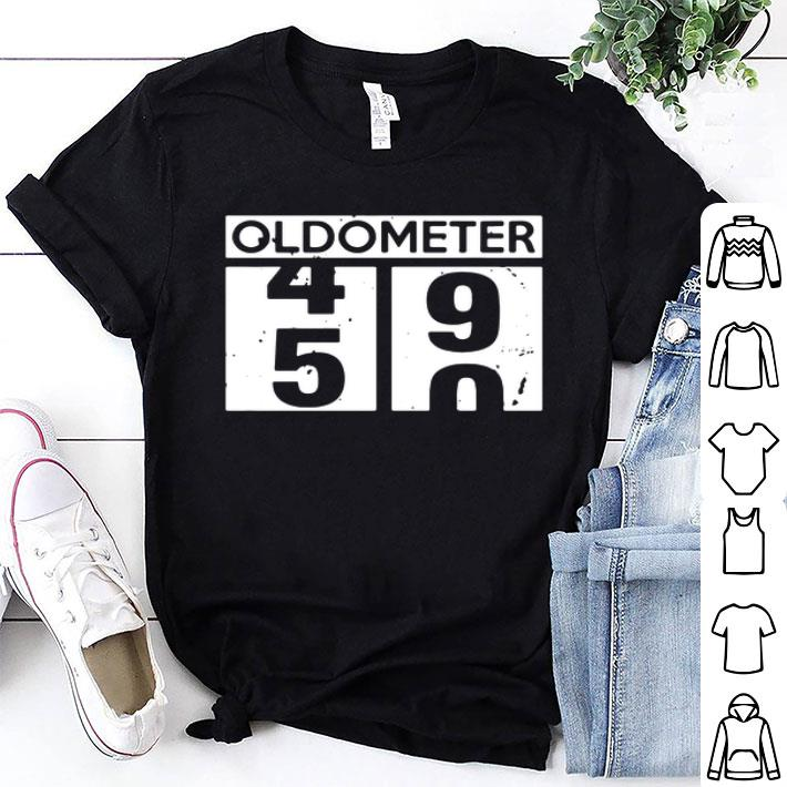 - Oldometer 49 50 year old birthday shirt