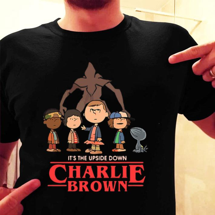 Peanuts It's the upside down Charlie Brown shirt