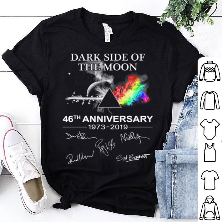 - Pink Floyd Dark side of the moon 46th anniversary signatures shirt