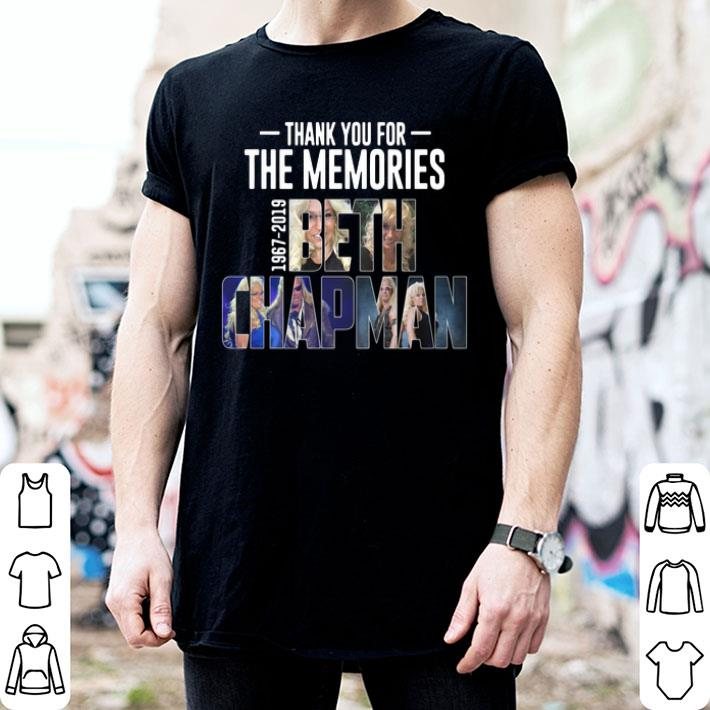 - Rip Beth Chapman 1967-2019 thank you for the memories shirt