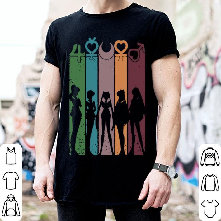 - Sailor Moon All Characters Girl shirt