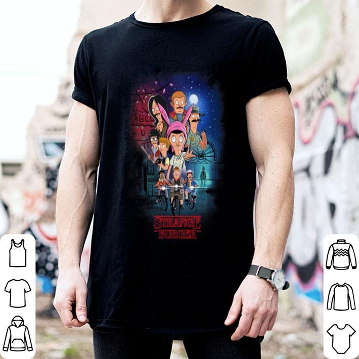 - Strange Burger Stranger Things shirt