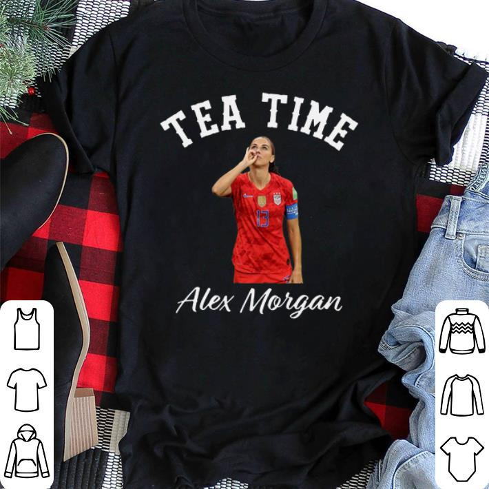- Tea time Alex Morgan shirt