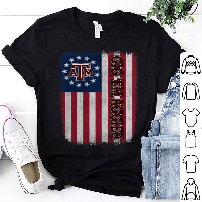- Texas A&M Aggies Betsy Ross Flag shirt