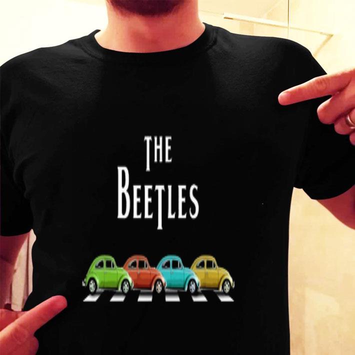 - The Beatles Abbey road Cars shirt