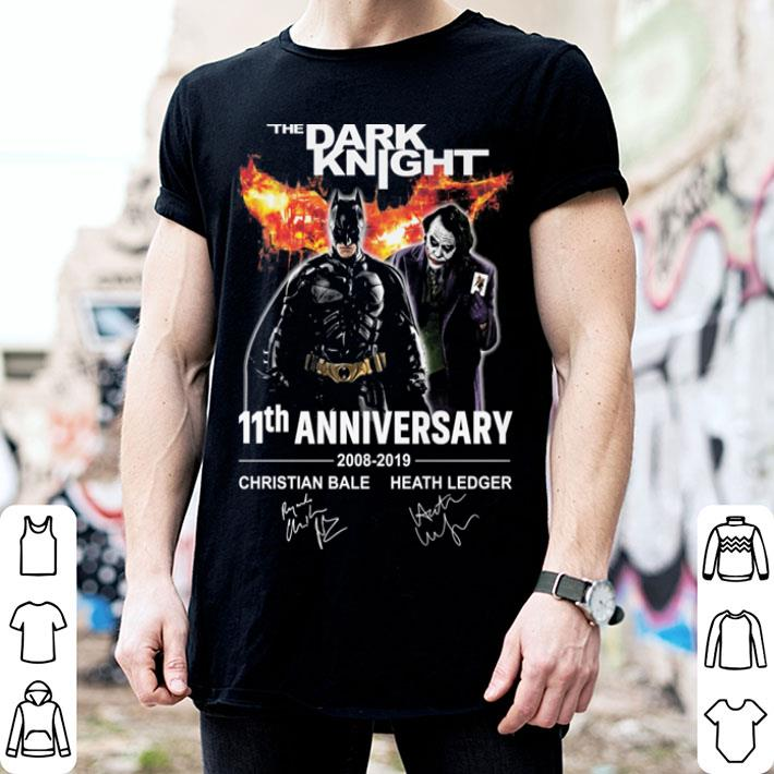 The Dark Knight 11th Anniversary 2008-2019 shirt