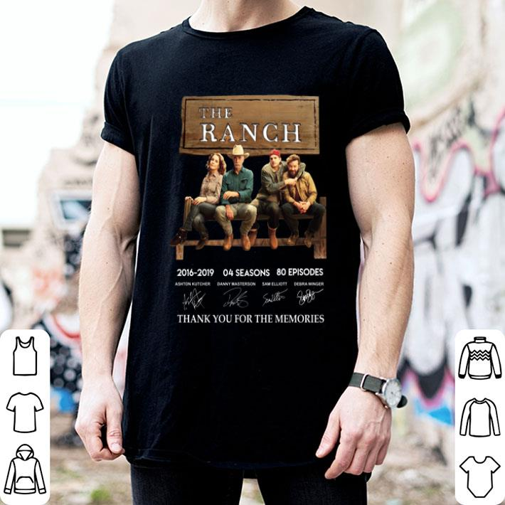 - The Ranch signatures thank you for the memories shirt