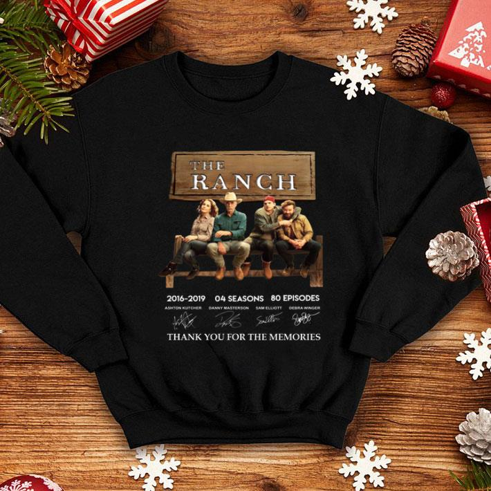 The Ranch signatures thank you for the memories shirt