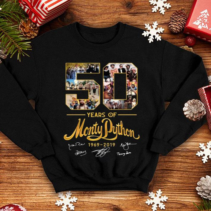 - 50 years of Monty Python 1969-2019 signature shirt