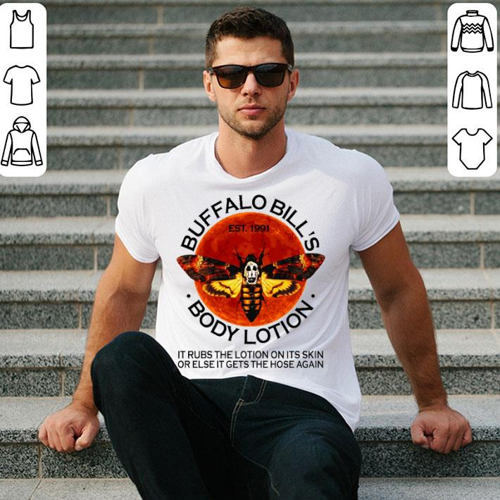 - Buffalo Bill's est. 1991 body lotion it rubs the lotion sunset shirt