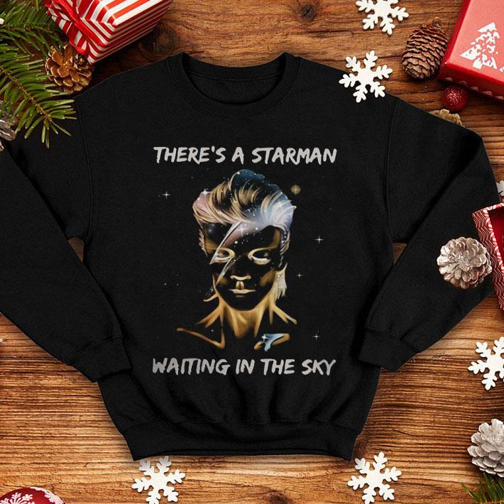 David Bowie there's a Starman waiting in the sky shirt