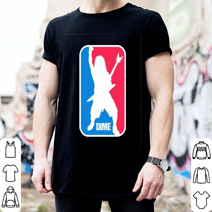 Dime Dimebag Darrell sport logo shirt