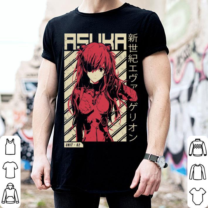 Evangelion Asuka Poster Anime shirt