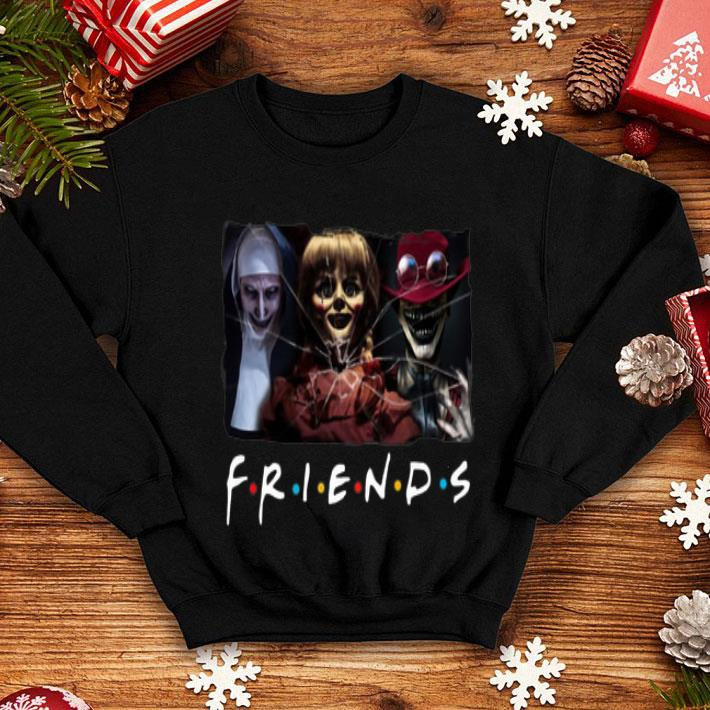 - Friends The Conjuring Annabelle The Crooked Man shirt