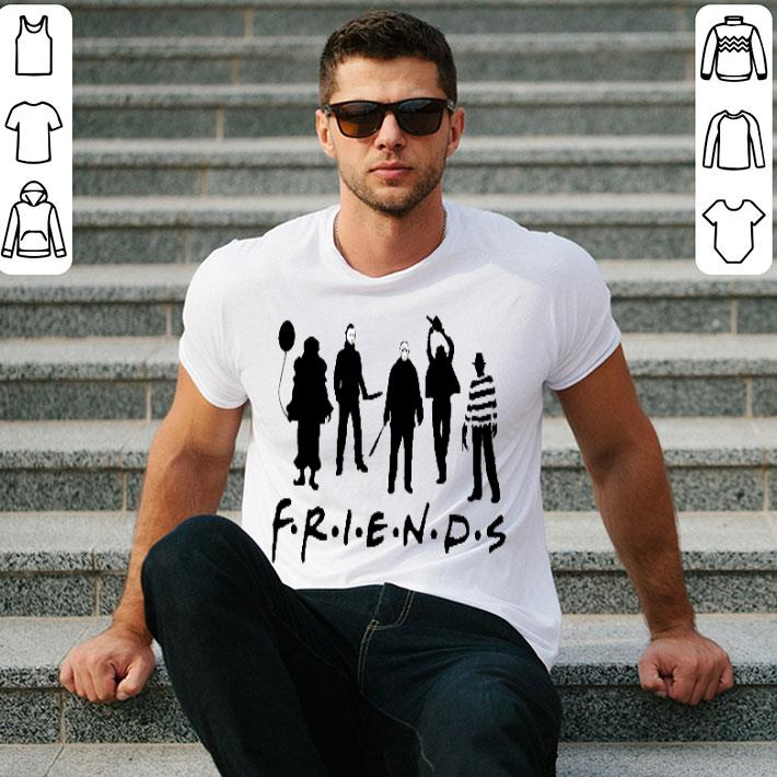 - Friends team horror characters shirt