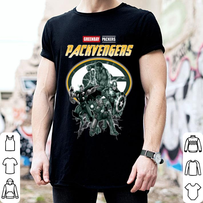 - Greenbay Packers Packvengers Avengers Marvel shirt