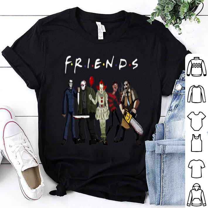 - Horror Characters Friendsshirt