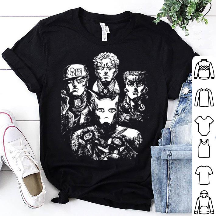 JoJo's bizarre adventure Rivalry Bohemian Rhapsody Queen shirt