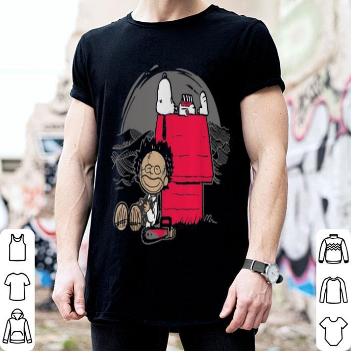 - Leatherface and Snoopy's House shirt