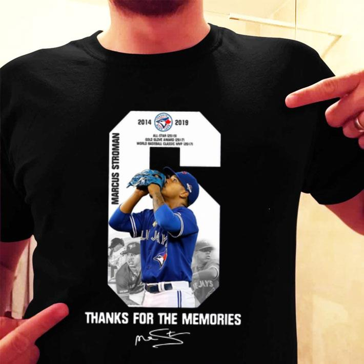 Marcus Stroman Toronto Blue Jays thank you for the memories shirt