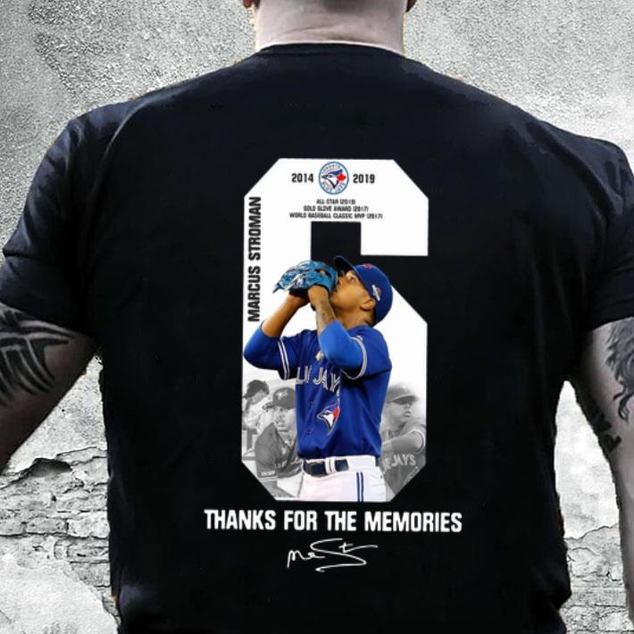 - Marcus Stroman Toronto Blue Jays thank you for the memories shirt