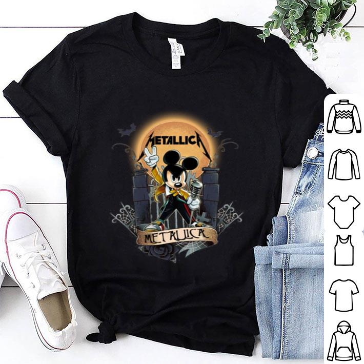 - Mickey Mouse Metallica Freddie Mercury Halloweenshirt