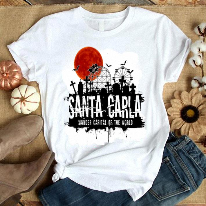 - Santa Carla Murder Capital Of The World Sunset Halloween shirt