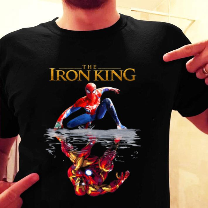 The Iron King Spider Man reflection Iron Man The Lion King 2019 shirt