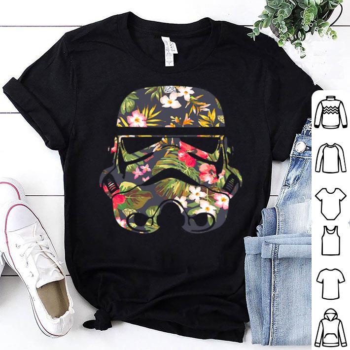 - Tropical Stormtrooper Flower shirt