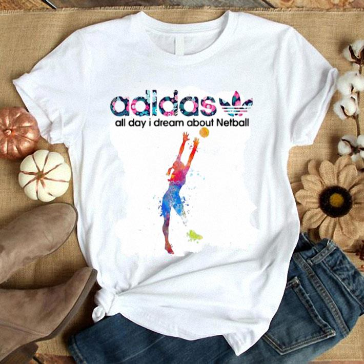 adidas all day I dream about Netball shirt