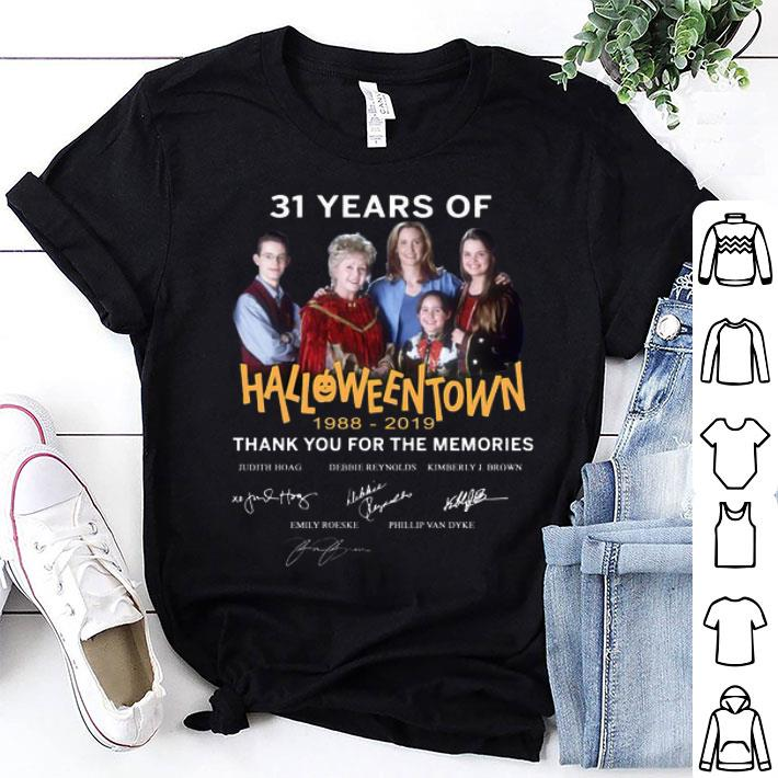 - 31 years of Halloweentown 1988-2019 thank you for the memories shirt