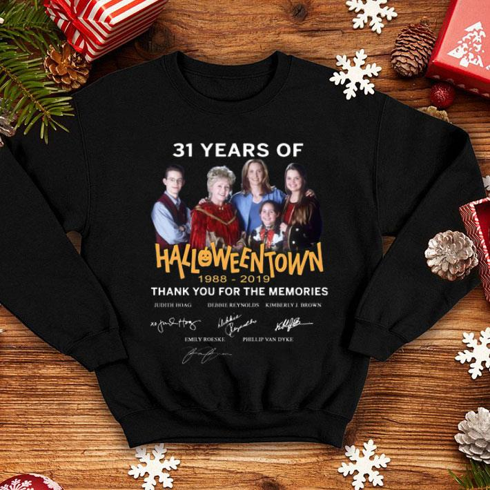 31 years of Halloweentown 1988-2019 thank you for the memories shirt